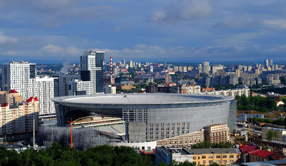 Central Stadium – Yekaterinburg