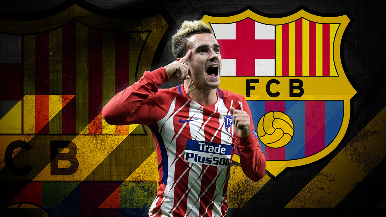 How can Antoine Griezmann fit into Barcelona's formation