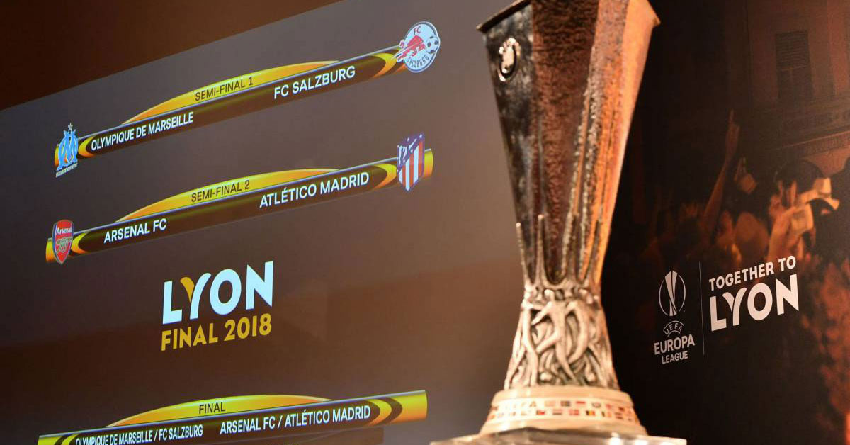 The Europa League - Semi Finals - First Legs - 26 April 2018