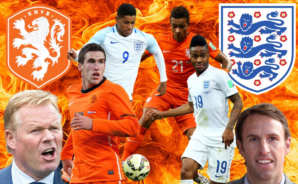 The Netherlands vs England