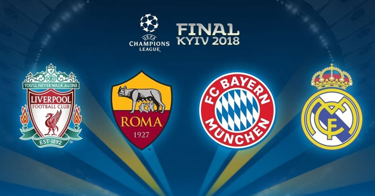 Uefa Champions League – Semi Finals – First Legs – 23 April 2018