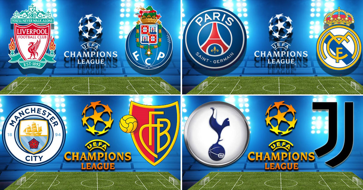 Uefa Champions League - Round 16 - Second Legs - 5 March 2018