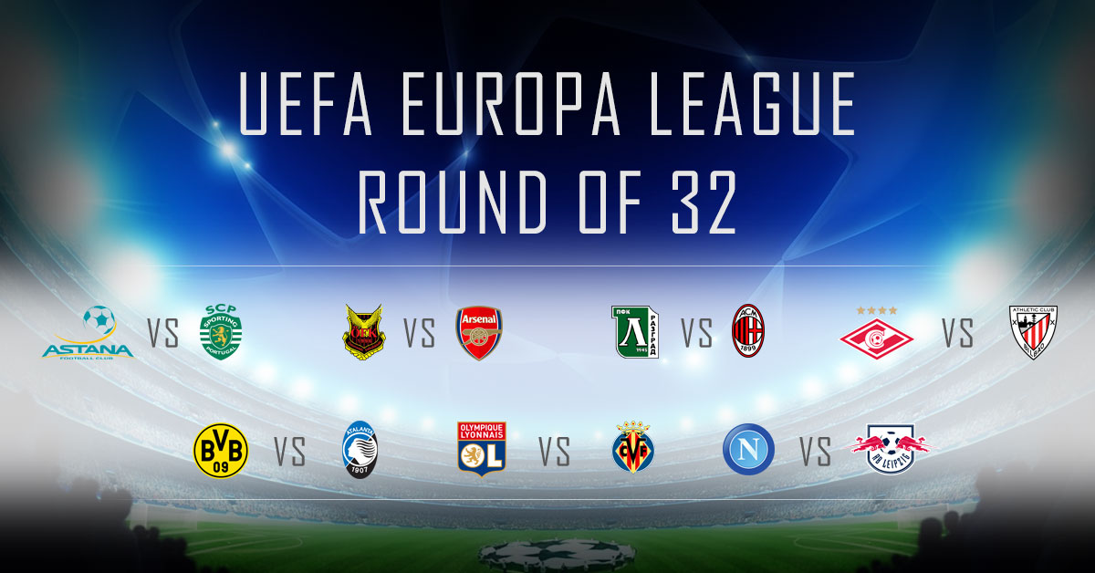 Uefa Europa League Round of 32