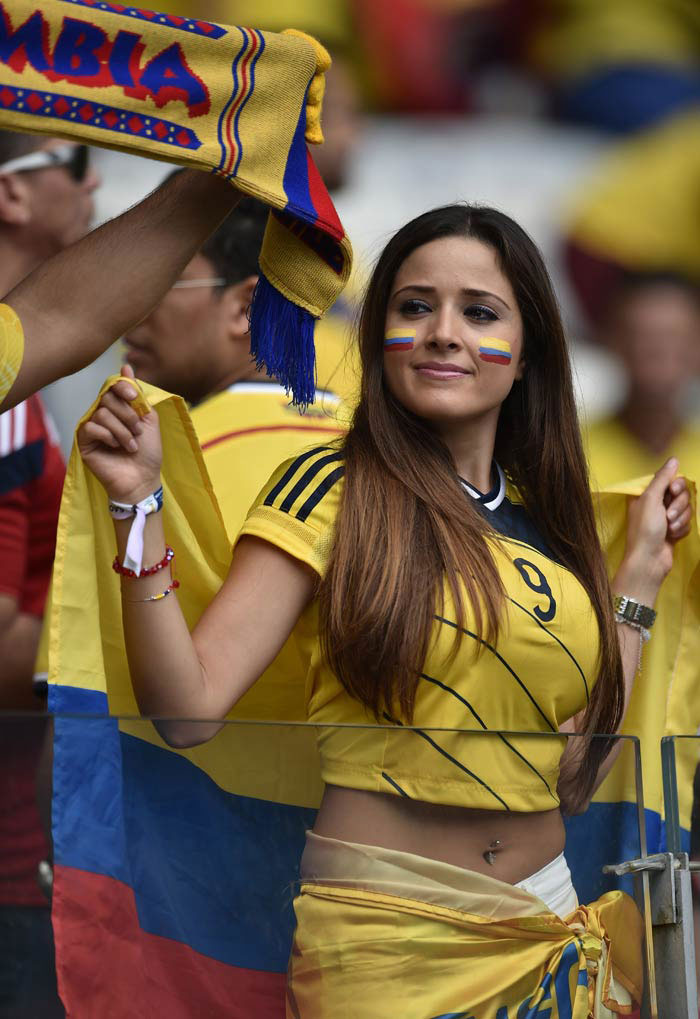 The Beauty of the World Cup 2018 - Columbia