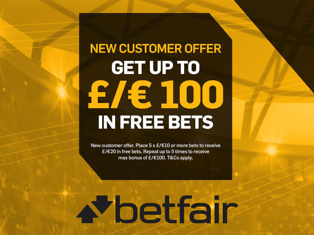 Betfair Starting Bonus Offer