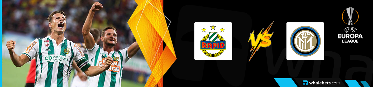 Rapid Wien v Internazionale Milano